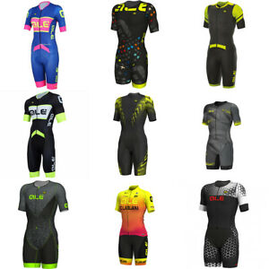 Muti Color Summer Men Cycling Jumpsuit Short Sleeve Mens Cycling Skinsuit