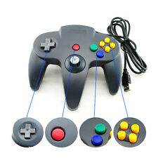 USB Game Controller Joypad Joystick Gaming For Nintendo N64 PC Mac 160 x 157 x 6