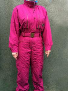 BOGNER Ski Suit Super Light High Tech Jacket Pants One Piece Size USA: 14 / h 42