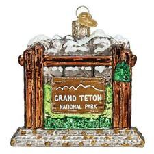 Old World Christmas Grand Teton National Park (36269)N Ornament w/ Owc Box