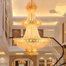 TOP staircase living room chandelier LED K9 crystal hanging lamp Ceiling light
