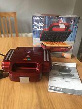 Sliver Crest Waffle Maker SWR1000 Non Stick