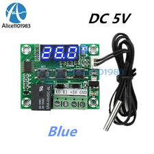 DC 5V W1209 Blue LED Temperature Switch Thermometer Thermostat Controller Sensor