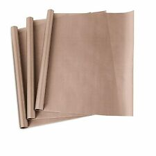 3x Teflon Transfer Sheets For Heat Press Non Stick Iron Resistant Reusable Craft