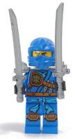 LEGO Ninjago - Figur Jay ( Skybound ) mit Waffenhalter Schwertern / njo216 NEU
