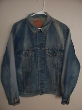 Vintage Levi's 4 Pocket Denim Trucker Jacket Med
