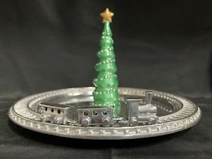 Mariposa Green Tree and Train Server from Sallie Home