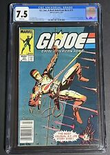 G.I. Joe A Real American Hero 21 CGC 7.5 Newstand White Pages.