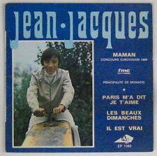 Jean-Jacques 45 Tours EP Eurovision 1969