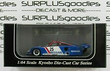 KYOSHO 1:64 Scale Beads Collection 1989 NISSAN R89C #25 LM Race Car Item 06431C