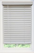 Faux Wooden Window Blinds And Shades For Sale Ebay