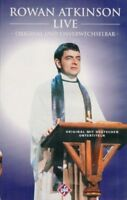 ROWAN ATKINSON LIVE - VHS Film Movie Kassette Komödie Comedy Stand up