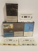 THE EAGLES Lot of 7 Cassette Tapes, Greatest Hits Vol. 2, The Long Run, Hotel