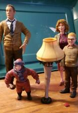 Neca A Christmas Story Parker Family and Flick figures no box
