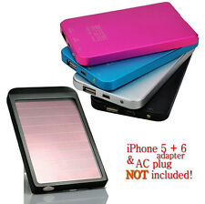 2600mAh USB Portable Solar Panel Battery Charger Power Bank For Cell Phone