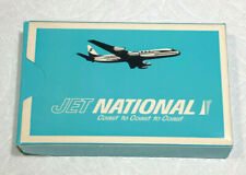 VINTAGE NATIONAL AIRLINES JET NATIONAL COAST TO COAST PLAYING CARDS