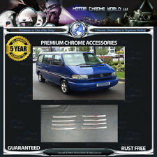 FITS VOLKSWAGEN T4 CHROME GRILLE TRIM COVERS HIGH QUALITY 5y GUARANTEE 1990-2003