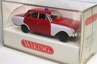 """Wiking 1:87 Ford Taunus 17M """"Badewanne"""" OVP 861 03 Feuerwehr ELW"""