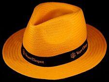 Champagne Veuve Clicquot Ponsardin: Fibre Paper, Orange Sun Hat, Size 57 NEW