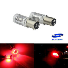 2 AMPOULE LAMPE 12V BAY15D P21/5W  15 LED ROUGE FEUX ARRIERES TUNING STOP