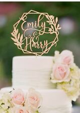 Personalized Name Wedding Cake Topper Custom Wedding Cake Topper