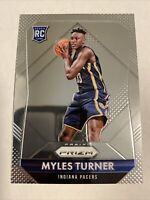 2015-16 Panini Prizm Myles Turner Rookie Card #340 Indiana Pacers RC