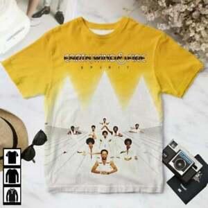 Music  Earth Wind And Fire Spirit Album 3D Tee T Shirt