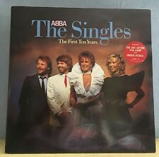 ABBA The Singles The First Ten Years 1982  Double Vinyl LP EXCELLENT CONDITION A