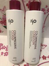 Set 2 ISO ColorPreserve: Cleanse 33.8 Oz. Shampoo + Conditioner 33.8 Oz