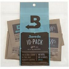 Boveda 69% Cigar Accessories & Humidors Rh 2-Way Humidity Control, G, 10 Pack