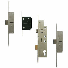 Fullex Holiday Lock Lever Operated Latch & Deadbolt Twin Spindle - 2 Deadbolt