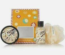 The Body Shop Warm Vanilla Body Butter Cream Shower Gel Gift Set