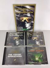 Westwood Command & Conquer (ROM) & (Win 95) Red Alert. Manual. Covert Operations