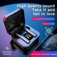 Mini Earbuds Stereo Headphones Bluetooth 5.0 Headset TWS Wireless Earphones