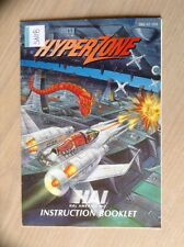 HyperZone Hyper Zone SNES Super Nintendo Manual Instruction Booklet HAL America