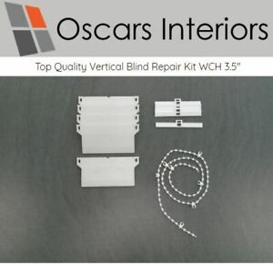 Professional Quality 89mm Vertical Blind Repair Kit Weights Chain Hangers Spares