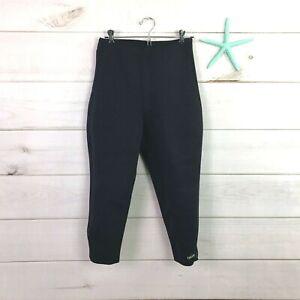 Delfin Spa Infrared Maximizing Neoprene Anti Cellulite Capri Hot Pants Womens S
