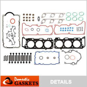 Fits 00-03 Ford Explorer Ranger Mazda Mercury 4.0 SOHC Full Gasket Set Bolts