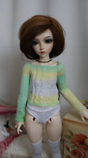 Knitted sweater for Minifee, MSD, BJD 1/4.