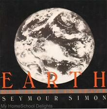 EARTH OUR PLANET IN SPACE Seymour Simon Homeschool Primary Unit Study Paperback