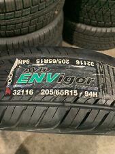 1 New 205 65 15 Yokohama Avid Envigor Tire