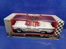 Road Signature 1958 Pontiac Bonneville Indy 500 Pace Car 1:18 Scale Diecast NIB