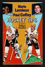 1988-89 Hockey Tips from Mario Lemieux & Paul Coffey 60pgs, Gretzky, Badali...