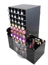 Black Cosmetic Organiser Storage Lipstick Holder Brushes Makeup Acrylic Stand