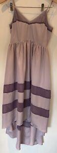 Rory Beca Forever 21 Women High Low Lavender Midi Sleeveless Dress Size S/P
