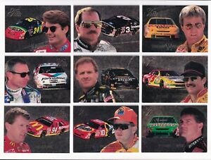 1996 Ultra Flair PREVIEW #5 Rusty Wallace SCARCE--ONE CARD ONLY!