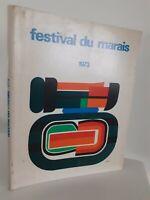 10 Años de Festival de La Swamp Programa 1973 Con Chaqueta