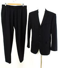 HUGO BOSS Anzug Gr. 50 / M Wolle Sakko Hose Business Suit Jacket Pants