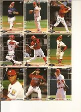 2010 Memphis Redbirds Complete 36 Card SGA (Rare) Set by Multi Ad - Lynn + more
