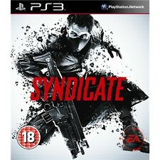 Syndicate  playstation 3    PS3    nuovo